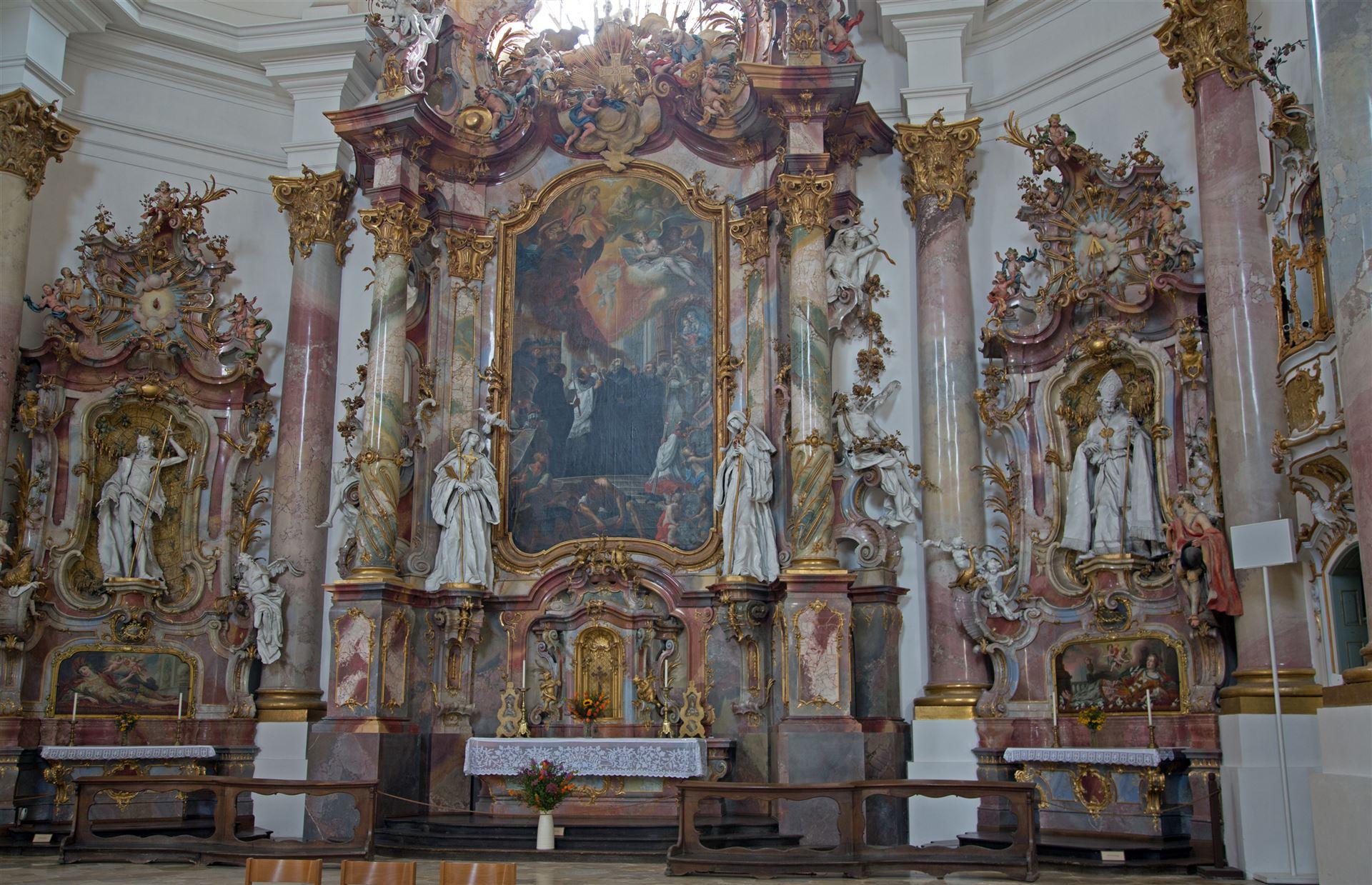 zwiefalten kloster und umgebung